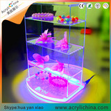 Acrylic LED light display case