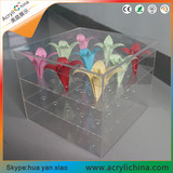 Acrylic-Rose-Box Transparent box order
