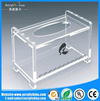 Acrylic square towel rack(1)
