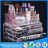 Jewelry cosmetics storage box