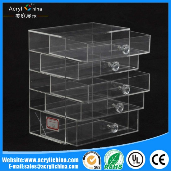 Acrylic five-layer storage box.jpg