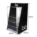 Acrylic display stand _ manufacturers with electronic cigarette display stand with door with lock el