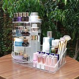 Rotating Acrylic Dressing Table Lipstick Finishing Box