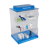 Acrylic display cabinet _ factory electronic accessories acrylic display cabinet with lock multi-lay